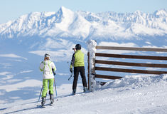 Ski Resort Jasna, Slowakije Royalty-vrije Stock Foto's