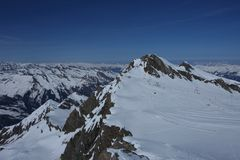 Ski resort Kaprun Stock Photo