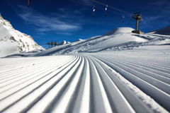 Ski resort kaprun. And zell am see Stock Images