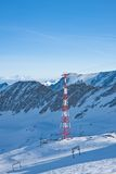 Ski resort of Kaprun,  Austria Royalty Free Stock Images