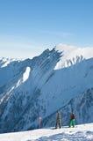 Ski resort of Kaprun, Austria Royalty Free Stock Image