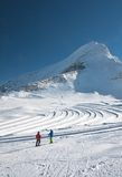 Ski resort of Kaprun, Austria Stock Photos