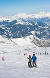 Ski resort of Kaprun. Austria Royalty Free Stock Image