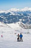 Ski resort of Kaprun. Austria Royalty Free Stock Image