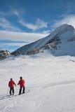 Ski resort of Kaprun. Austria Stock Images