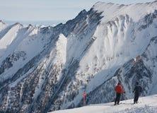 Ski resort of Kaprun. Austria Royalty Free Stock Photo