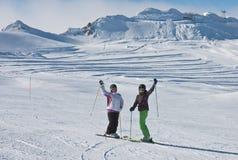 Ski resort of Kaprun,. Austria Stock Photography