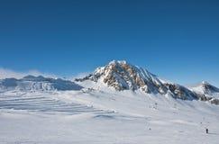 Ski resort of Kaprun,. Austria Royalty Free Stock Photos