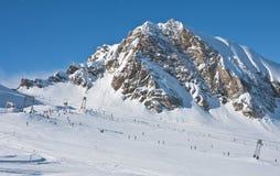 Ski resort of Kaprun,. Austria Stock Images