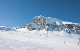 Ski resort of Kaprun,. Austria Stock Photography