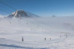 Ski resort of Kaprun,. Austria Stock Image