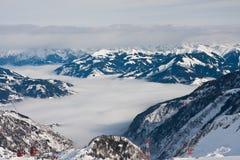 Ski resort of Kaprun, Austria Royalty Free Stock Images