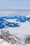 Ski resort of Kaprun, Austria Royalty Free Stock Image