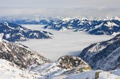 Ski resort of Kaprun, Austria Royalty Free Stock Photo
