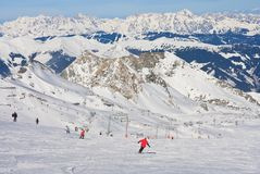 Ski resort of Kaprun, Austria Stock Photo