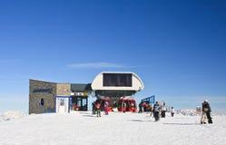 Ski resort of Kaprun, Kitzsteinhorn glacier. Austria Stock Images