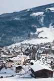 Ski resort Kaprun - Maiskogel Royalty Free Stock Images