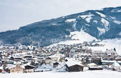 Ski resort Kaprun - Maiskogel Stock Images