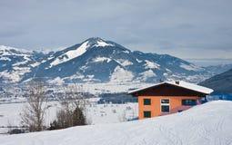 Ski resort Kaprun - Maiskogel Royalty Free Stock Images