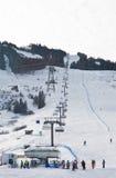 Ski resort Kaprun - Maiskogel Royalty Free Stock Photos