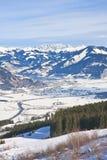 Ski resort Kaprun - Maiskogel. Austria Royalty Free Stock Images