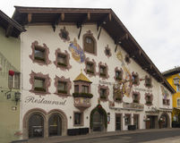 Ski resort of Kitzbuehel Stock Photo