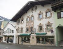 Ski resort of Kitzbuehel Stock Images