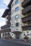 Ski resort of Kitzbuehel Royalty Free Stock Photos