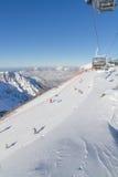 Ski resort. Krasnaya Polyana, Sochi, Russia Stock Image