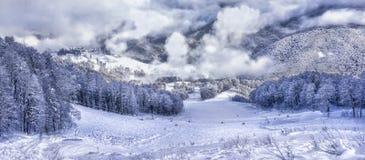 Ski resort Krasnaya Polyana SOCHI Royalty Free Stock Photos