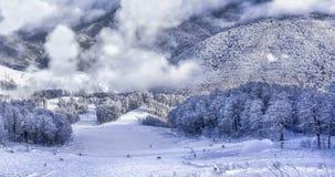 Ski resort Krasnaya Polyana SOCHI Stock Image