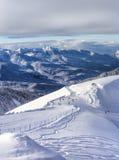 Ski resort Krasnaya Polyana SOCHI. Is a wonderful place for a family vacation Stock Photography