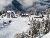 Ski resort Krvavec Stock Photography