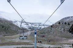 Ski resort in late autumn Stock Images
