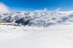 Ski resort Les Orres, Hautes-Alpes, France Royalty Free Stock Image