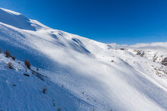 Ski resort Les Orres, Hautes-Alpes, France Stock Images