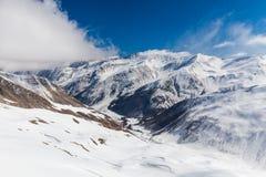Ski resort Les Orres, Hautes-Alpes, France Stock Photography