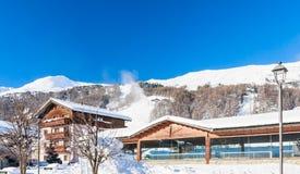 Ski resort Livigno. Italy Stock Images