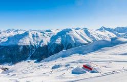 Ski resort Livigno. Italy Stock Image