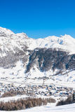 Ski resort Livigno. Italy Stock Photo