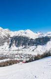 Ski resort Livigno. Italy Stock Photography