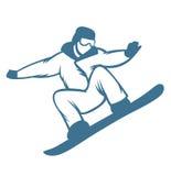 Ski resort logo emblems, labels badges vector Stock Images