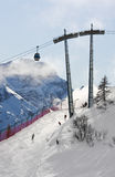 Ski resort Madonna di Campiglio. Italy Royalty Free Stock Photos