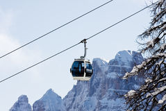 Ski resort Madonna di Campiglio Royalty Free Stock Images