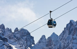 Ski resort Madonna di Campiglio. Italy Royalty Free Stock Photography