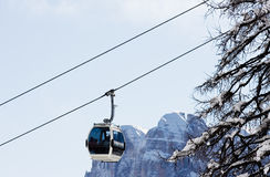 Ski resort Madonna di Campiglio. Italy Royalty Free Stock Images