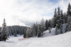Ski resort Madonna di Campiglio. Italy Stock Photos