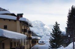 Ski resort Madonna di Campiglio. Italy Stock Image