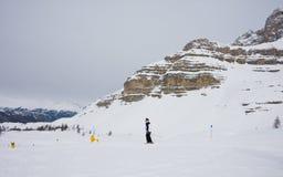 Ski resort Madonna di Campiglio. Italy Royalty Free Stock Photo