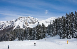 Ski resort Madonna di Campiglio Stock Photography